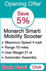 Monarch Smarti Mobility Scooter